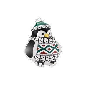 Chamilia Cozy Penguin Sterling Silver Charm NWT